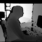 Captured color image from Kinect depth sensor