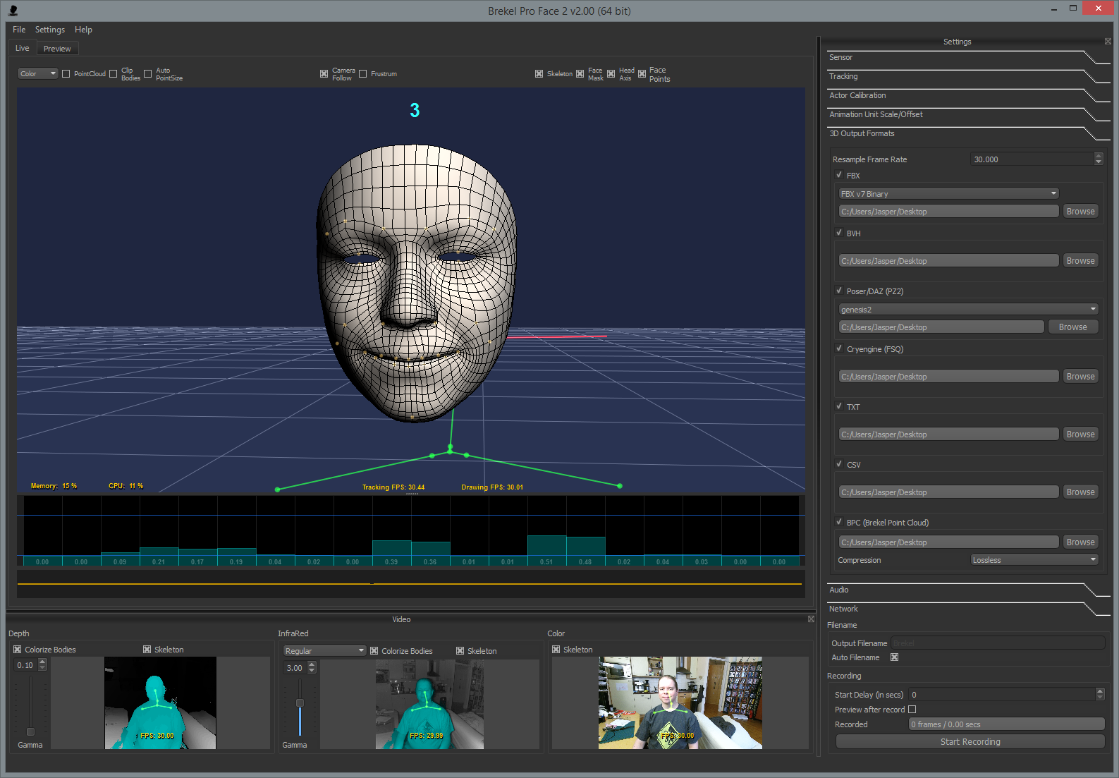 facial tracking software
